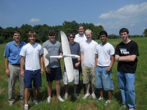 NSF-REU UAV Team